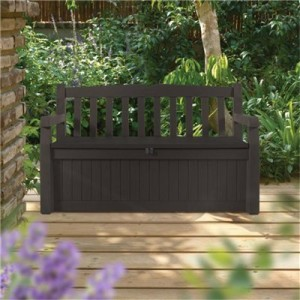 Garden seating storage box